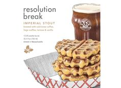 Break Your New Year's Resolutions with Trillium Brewing Co. Resolution Break Imperial Stout