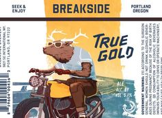 Breakside Brewery Debuts True Gold in Year-Round Lineup