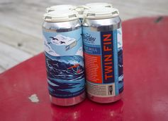 Cape May Brewing Co. Releases Twin Fin Sour Hazy IPA in Collaboration with Iron Hill Brewery