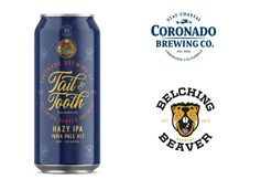 Coronado Brewing Co. and Belching Beaver Brewery Collaborate on Tail & Tooth Hazy IPA