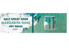 Coronado Brewing Co. Releases Second Beer in Art Series, Salt Spray Sour Margarita Gose