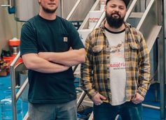 Door County Brewing Co. Head Brewer Danny McMahon and Assistant Head Brewer Kyle Gregorash Talk Punk Ass Cat