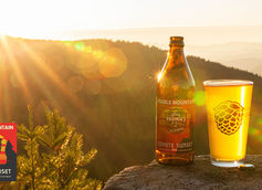 Double Mountain Brewery & Barley Brown's Announce Collaboration Beer Coyote Sunset