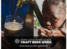 Drink Local Think Global Craft Beer Week being held from October 21st - October 27th