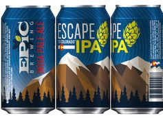 Epic Brewing Debuts Rebranded and Reformulated Escape to Colorado IPA