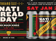 Fretboard Brewing Releases 'Nati Dread as Part of Reggae Series