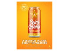 Fulton Brewing Debuts Solar Vortex Blood Orange Session Ale