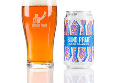 Monday Night Brewing Reformulates Blind Pirate Blood Orange IPA Recipe