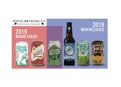 Odell Brewing Co. Debuts 2019 Release Calendar