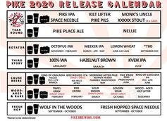 Pike Brewing Co. Drops 2020 Beer Calendar