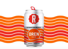 Reformation Brewery Reformulates Oren Pale Ale Recipe and Redesigns Can