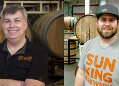Sun King Brewery Head Brewer Dave Colt & Barrel Manager Andrew Hood Talk Lyrical Poet