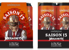 Unibroue Announces Second Collaboration with Megadeth: Saison 13
