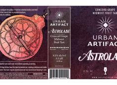 Urban Artifact Unveils Astrolabe Concord Grape Midwest Fruit Tart