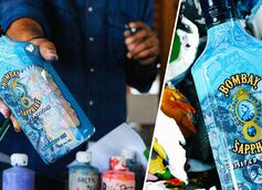 Bombay Sapphire Gin Collaborates With Hebru Brantley on First-Ever Artist Designed Bottle