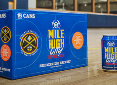 Breckenridge Brewery Partners with NBA's Denver Nuggets on Mile High City Lager