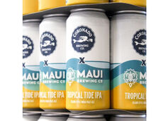 Coronado Brewing Co. & Maui Brewing Collaborate on Tropical Tide IPA