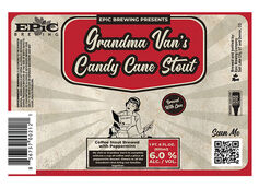Epic Brewing Debuts Grandma Van's Candy Cane Stout