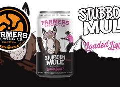 Farmers Brewing Co. Releases Stubborn Mule Gluten-Free Loaded Liquid