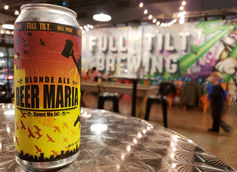 Full Tilt Brewing Collaborates with Rock Band All Time Low on Beer Maria