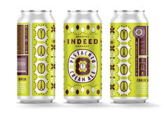 Indeed Brewing Co. Launches Pistachio Cream Ale Into Multi-State Distribution