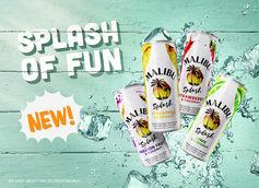 Malibu Unveils New Sparkling Malt Beverage: Malibu Splash