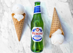 Peroni Partners with il laboratorio del gelato on Beer-Infused Gelato