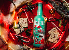 Rogue Ales & Spirits Announces 2020 Santa's Private Reserve Peppermint Bark Milk Stout