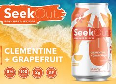 SeekOut Real Hard Seltzer Rolls Out Clementine and Grapefruit Flavor