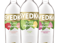 SVEDKA Vodka Launches Pure Infusions Line