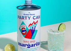 The Party Can Triple Spice Margarita Debuts as the First-Ever Large-Format, Ready-To-Drink Craft Cocktail
