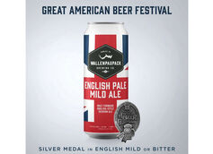 Wallenpaupack Brewing Co. Wins GABF Silver Medal for English Pale Mild Ale