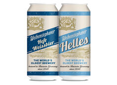 Weihenstephan Launching Cans in the US in 2021