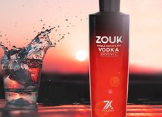Zouk Single-Estate Organic Rye Vodka Debuts