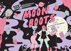 21st Amendment Brewery Partners with Pink Boots Society & Artist Robin Eisenberg on Moon Boots IPA