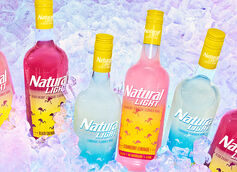 Anheuser-Busch Launches Natural Light Vodka in Four Flavors