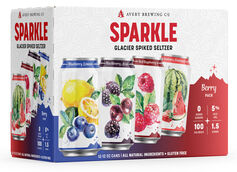 Avery Brewing Co. Unveils New Sparkle Berry Hard Seltzer Pack with 4 New Flavors
