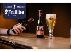 Brasserie St. Feuillien Releases New Bottle-Conditioned Specialty Belgian Blond Ale St. Feuillien FIVE