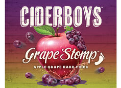 Ciderboys Rolls Out 'Grape Stomp' Flavor for Fall
