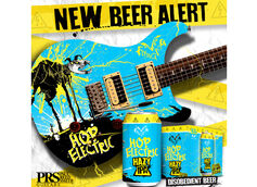 Flying Dog Brewery and Paul Reed Smith Guitars Team Up to Launch New High-Voltage Hazy IPA