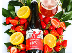 Monday Night Brewing Debuts Vibes, a Strawberry Lemon Golden Sour Ale