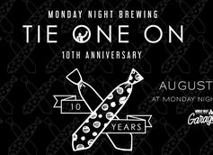 Monday Night Brewing Unveils Beer List for 10th Anniversary Celebration