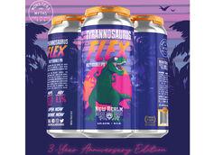 New Realm Brewing's Tyrannosaurus Flex Returns for Third Anniversary