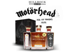 Rock Band Motörhead Collaborates with Hillrock Distillery on Limited Batch of Cask Strength Bourbon