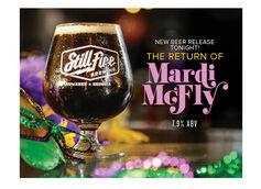 StillFire Brewing Celebrates Mardi Gras with the Return of Mardi McFly