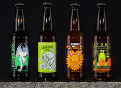 Stone Brewing Co. Lends Labels to Artists in New Stone Guest Artist IPA Mixed Pack