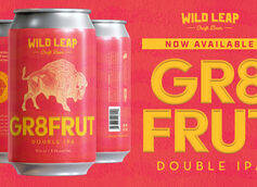 Wild Leap Brew Co. Introduces GR8FRUT Double IPA Summer Seasonal