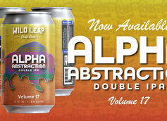 Wild Leap Brew Co. Unveils Alpha Abstraction, Vol. 17