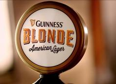 Guinness Blonde Tap Handle