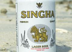 Singha Beer of Thailand